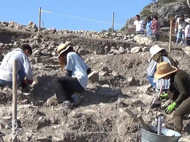 Amasya Kalesinde Bayezid döneminden kalma cami kalıntısı bulundu