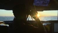 TRT Haber, Sahil Güvenlik ekipleriyle Ege Denizi'nde devriyede