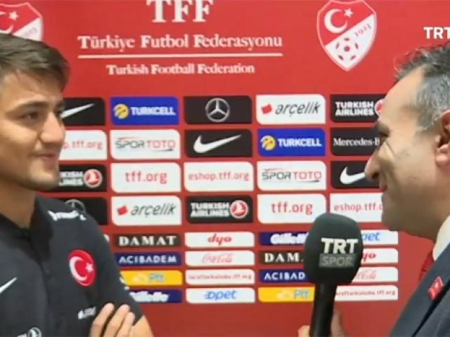 Cengiz Ünder TRT Spora konuştu