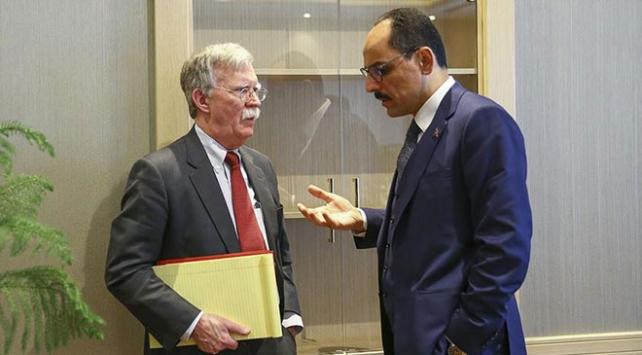 İbrahim Kalın ile John Bolton telefonda görüştü