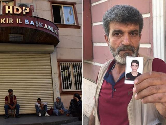 Dağa kaçırılan çocukların ailelerinin HDPye tepkisi sürüyor