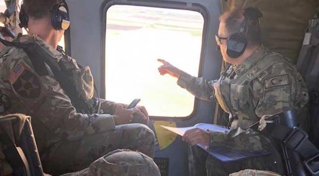 Suriye'de Türkiye ve ABD güçlerinden üçüncü ortak uçuş ile ilgili görsel sonucu