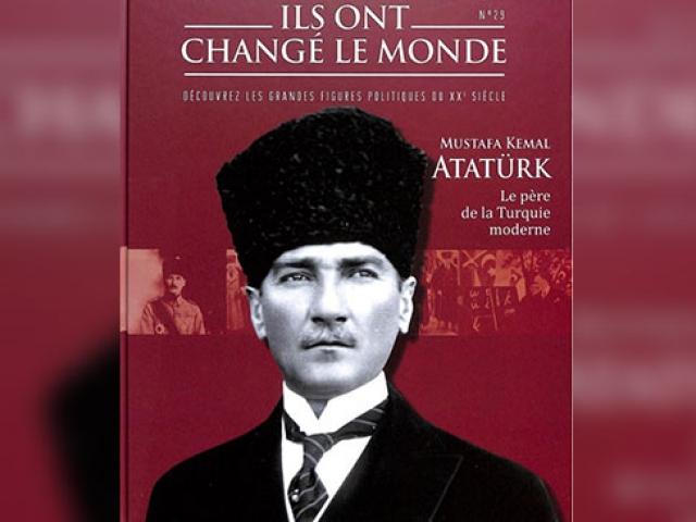 Fransada çıkan Atatürk kitabı bir haftada tükendi