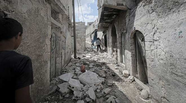 Esedden İdlibe saldırı: 1 ölü, 4 yaralı