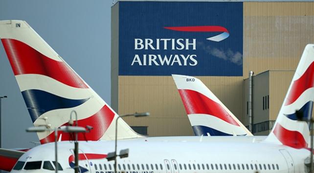 British Airwaysdeki grev nedeniyle uçuşlar durduruldu