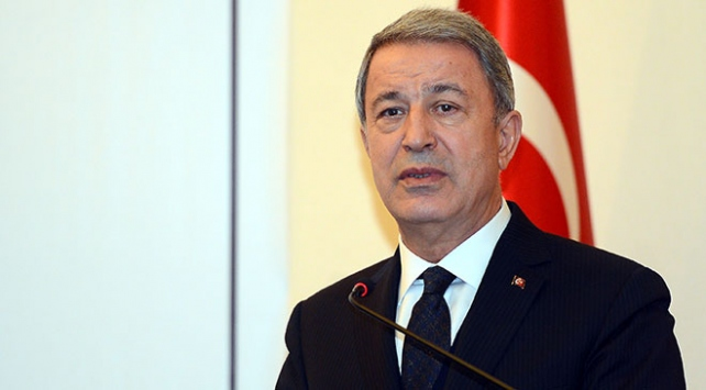 Milli Savunma Bakanı Akar'dan Çukurca şehidi için taziye mesajı