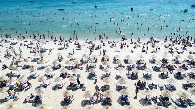 Turistik tesislerin temmuzdaki doluluk oranı yüzde 75