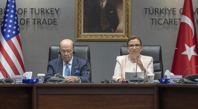 Ticart Bakanı Pekcan: ABD ile ikili ticarette öncelikli sektörleri belirledik