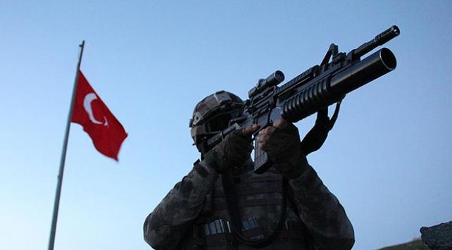 300 bin TL ödülle Gri Listede aranan terörist etkisiz hale getirildi