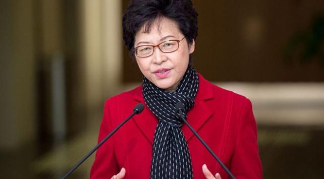 Hong Kong yönetiminden ABDye iç işlerine müdahale tepkisi