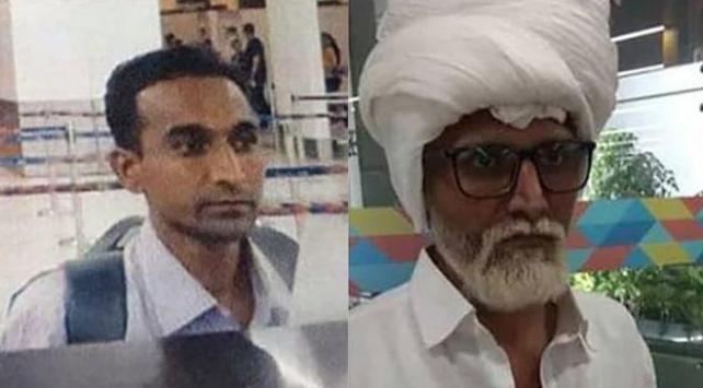 ABDye uçmak için kılık değiştiren Hint adamı ses tonu yakalattı