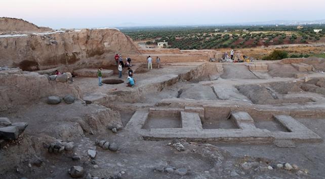 Kiliste 4 bin yıllık olduğu tahmin edilen saray kalıntısı bulundu