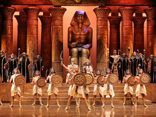 Türkiyede bir ilk: Aida Operası canlı yayınla TRT 2de