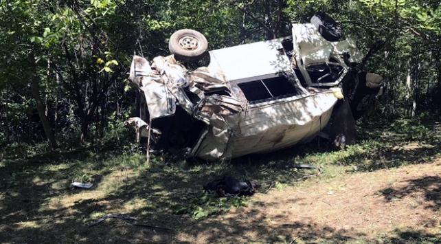 Bitliste köy minibüsü şarampole devrildi: 10 ölü, 7 yaralı