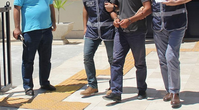 Tekirdağda okul müdürü ve memura bağış gözaltısı
