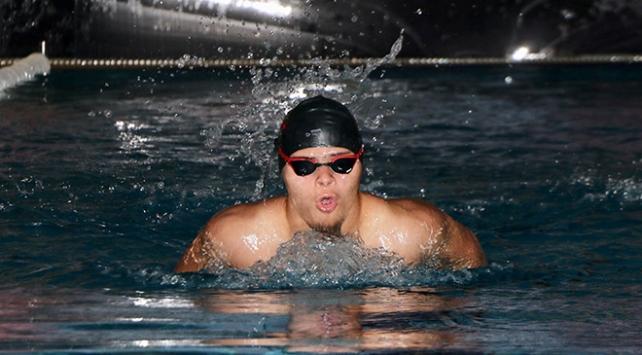 Down sendromlu yüzücünün gözü Avrupa şampiyonluğunda