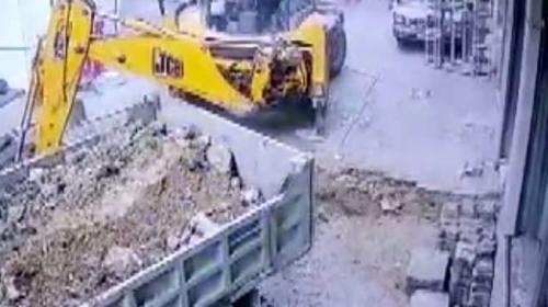 Şişli'de doğal gaz borusu patladı