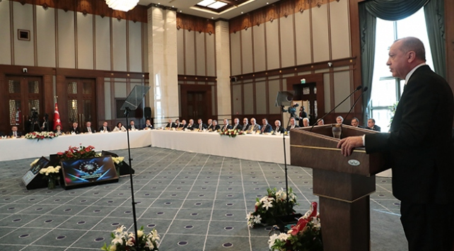 Cumhurbaşkanı Erdoğandan belediye başkanlarına önemli mesajlar
