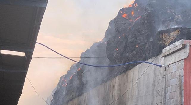 Gaziantepte 10 bin büyükbaş hayvanın bulunduğu çiftlikte yangın