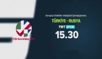 Türkiye - Rusya maçı TRT Spor'da