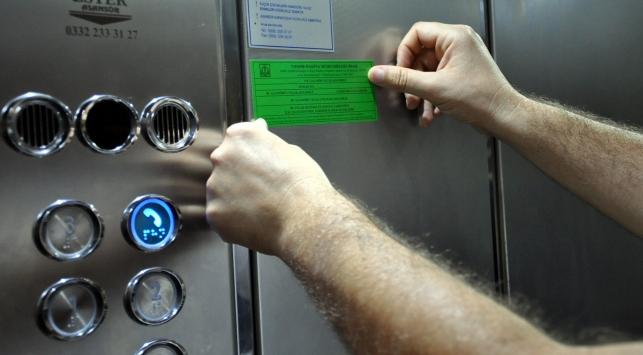 Bağcılarda kontrol edilen asansörlerin yarısı mühürlendi