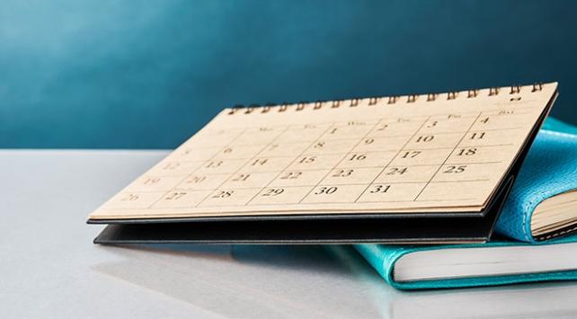 Belirli gün ve haftalar çizelgesi güncellendi