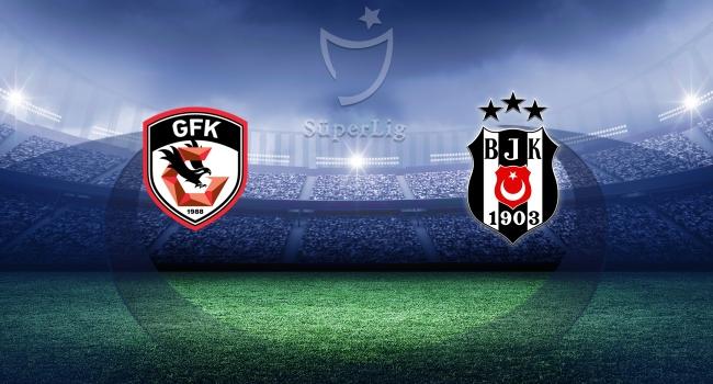 Beşiktaş Gaziantep deplasmanında