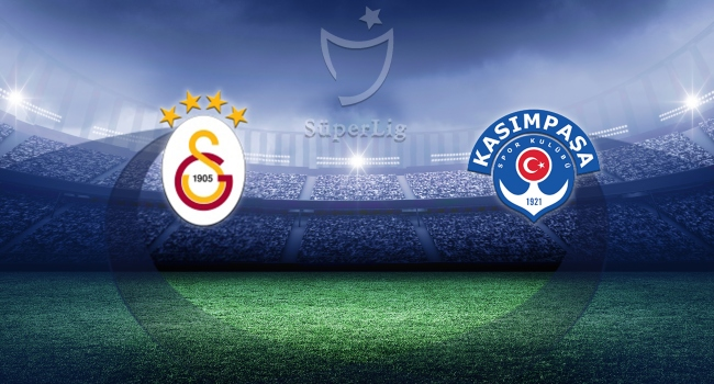 Galatasaray Kasımpaşayı konuk edecek
