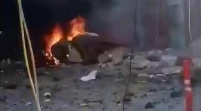 Afrinde bombalı saldırı: 13 sivil yaralandı