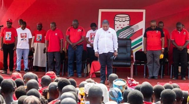 Mozambikte mitingde izdiham: 10 ölü