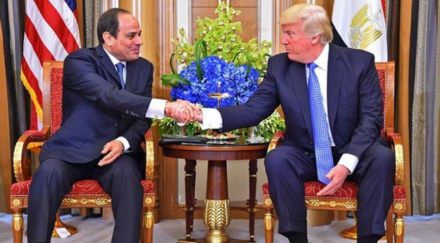 """Trump, Sisiden """"en favori diktatörüm"""" diye bahsetmiş"""