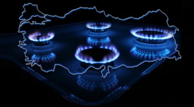 Yıl sonuna kadar 550 ilçe ve belde doğal gaza kavuşacak