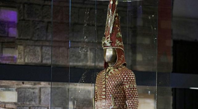 Altın Elbiseli Adam zırhı Türkiyede