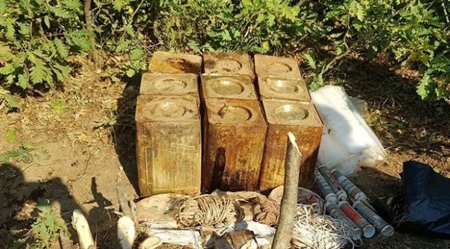 Bitliste 180 kilo patlayıcı madde imha edildi