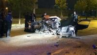 Ankara'da drift kovalamacası: 2 ölü, 1 yaralı
