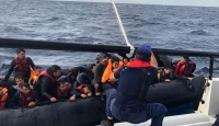 Ege Denizi'nde 30 düzensiz göçmen yakalandı