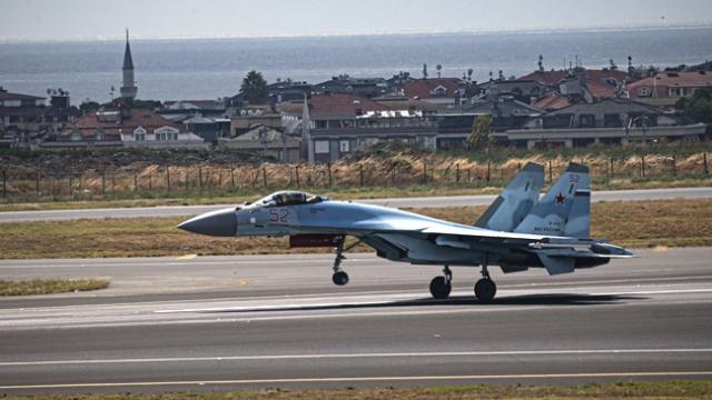 Rus Su-35 savaş uçağı İstanbul semalarında