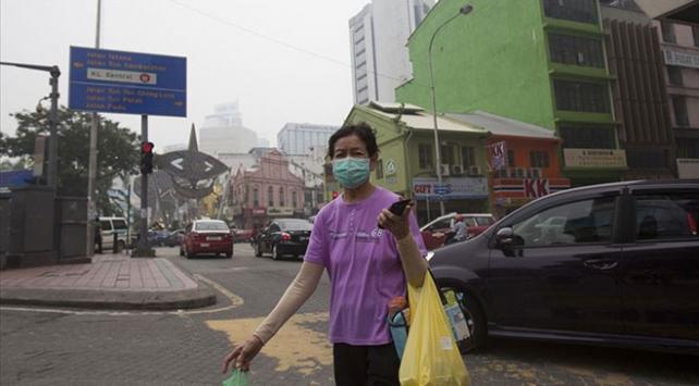 """Malezyada hava kirliliği """"çok sağlıksız"""" seviyesine düştü"""