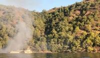 Muğla'da yat yangını: 1 ölü, 4 yaralı