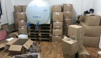 İstanbul'da sahte içki imalathanelerine baskın