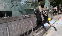 """Hong Kong yönetiminden """"şiddet çözüm değil"""" açıklaması"""