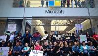 New York'ta Microsoft protestosu: 76 gözaltı
