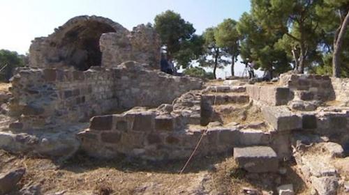 İzmir'in ilk mescidi ortaya çıkarıldı