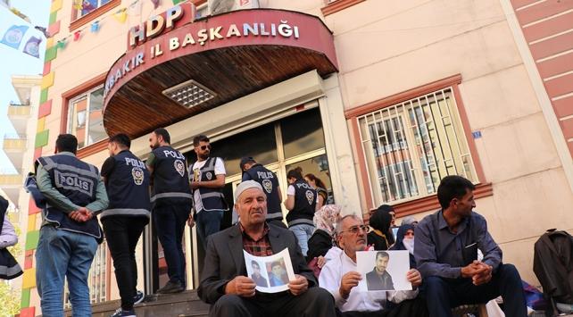 HDP İl Başkanlığı önünde eylem yapan aile sayısı 43e yükseldi