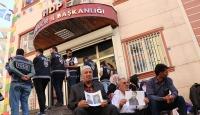 HDP İl Başkanlığı önünde eylem yapan aile sayısı 41'e yükseldi