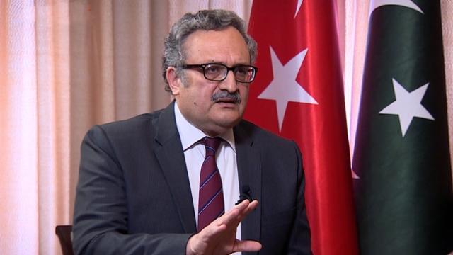 Pakistan'ın Ankara Büyükelçisi Qazi, TRT Haber'e konuştu (2)