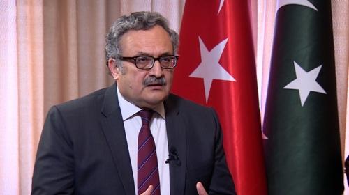 Pakistan'ın Ankara Büyükelçisi Qazi, TRT Haber'e konuştu (3)