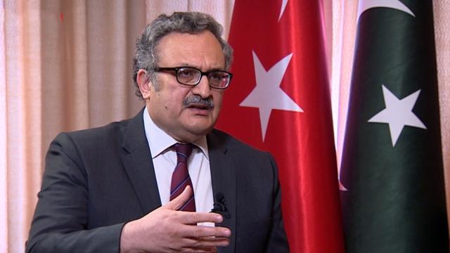 Pakistan'ın Ankara Büyükelçisi Qazi, TRT Haber'e konuştu (4)