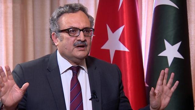 Pakistan'ın Ankara Büyükelçisi Qazi, TRT Haber'e konuştu (5)
