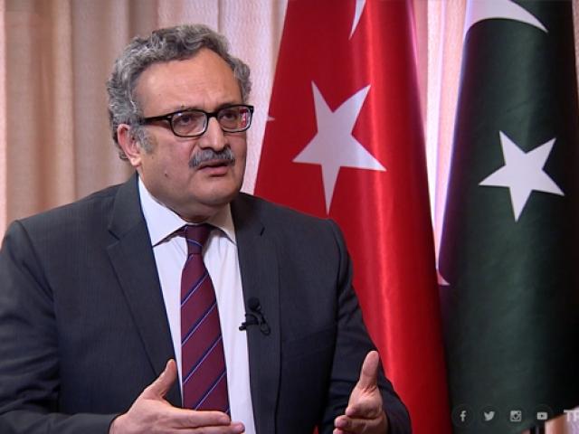 Pakistan'ın Ankara Büyükelçisi Qazi, TRT Haber'e konuştu (1)
